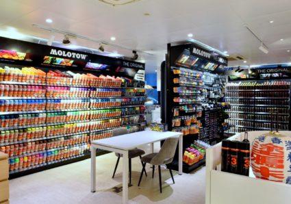 Introducing the MOLOTOW HONGKONG Store