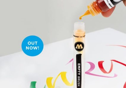 THE EMPTY BRUSH MARKER now available!