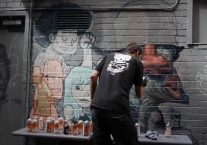 Croft Alley Paint Session Melbourne