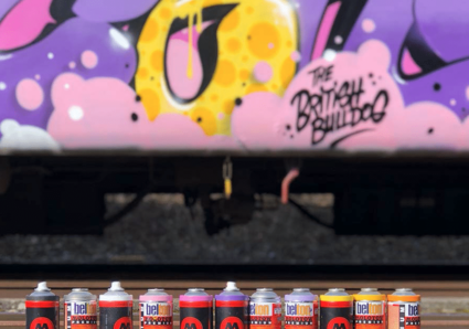 BOOGIE x CENZ x MOLOTOW AND FRIENDS EXCHANGE PROJECT