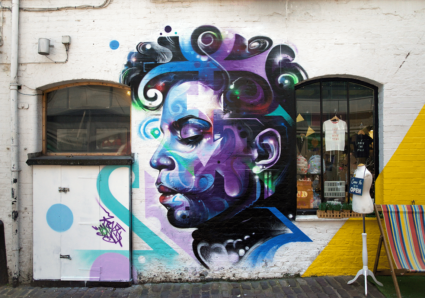 PRINCE Mural by MR.CENZ