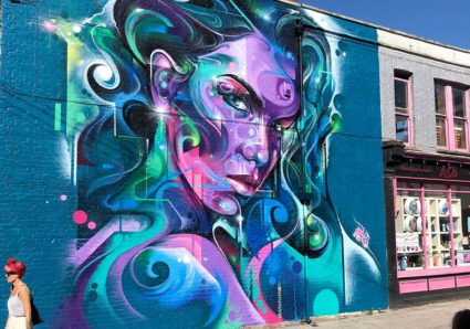 NEW MURAL BY MR.CENZ IN SOUTHEND, UK