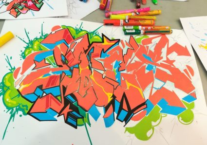 ENCS & DISEK from Paris sketching with MOLOTOW ONE4ALL