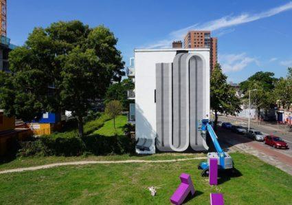COLOUR BLOCK 4 x PREF ID - Mural Project in Rotterdam