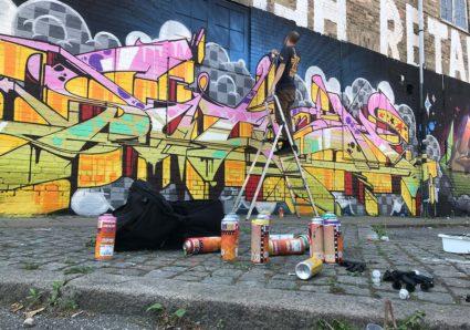 New SOTEN piece painted in New York