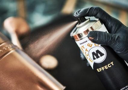 URBAN FINE ART STYROFOAM PRIMER, FILLER and EFFECT COPPER Spray Paint!