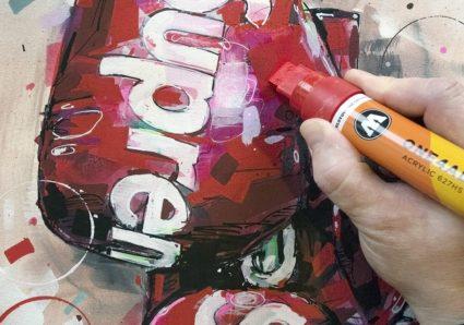 New works by Dutch artist Jos Hoppenbrouwers