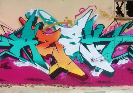 Introducing Graffiti Artist AZEK ONE from TOULOUSE