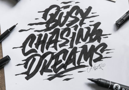 Lettering Drawing Tutorial by SNOOZE ONE