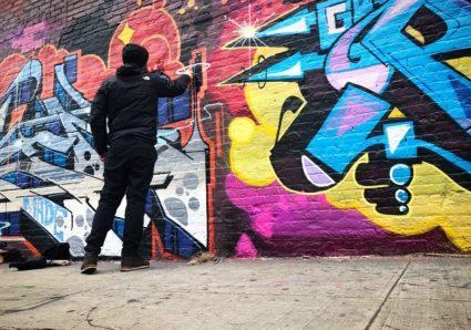 SOTEN painting in Brooklyn, NY