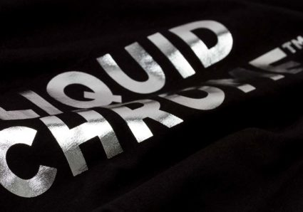 The LIQUID CHROME T-Shirt and Hoodie available now!