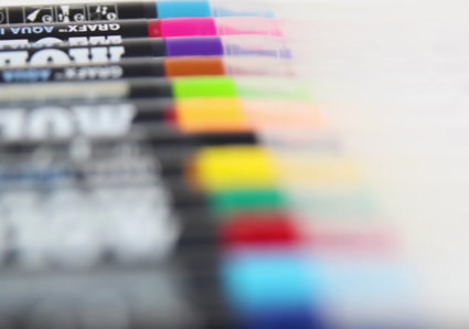 PRODUCT REVIEW on the MOLOTOW GRAFX AQUA INK PUMP SOFTLINER