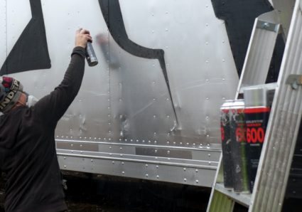 GESER rocks a tractor trailer with BURNER CHROME!