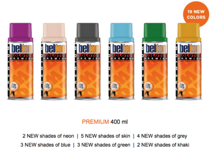 PREMIUM 275+ | 19 NEW COLORS WITH NEW PAINT FORMULA AND SOFT VARI VALVE OUT NOW