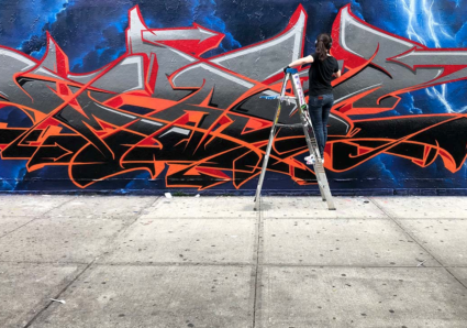 New wall by MADC, SOTEN and JACK