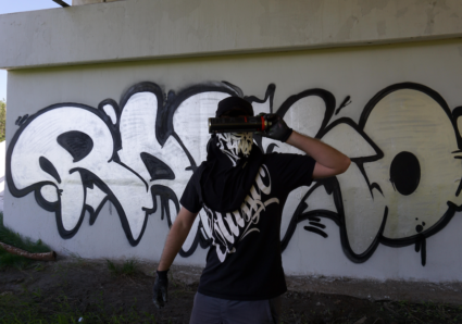 MOLOTOW BURNER CHROME & BLACK Sessions with RASKO in MOSCOW