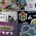 Stickermagazine Vol. 5 by BRAINFART
