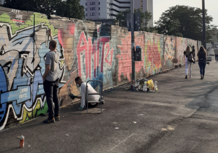 Graffiti artist AMIT 2.0 continues his Namedropping project with TASEK from Hamburg