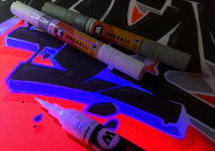 Glowing Canvas x SUNCHES x UV-FLOU x ONE4ALL x MOLOTOW PREMIUM