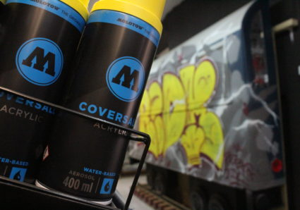 COVERSALL™ WATER-BASED now available at MOLOTOW STORE LISBOA