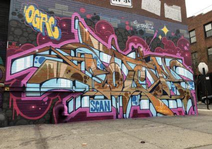 New SOTEN piece painted in NY Bushwick, Brooklyn