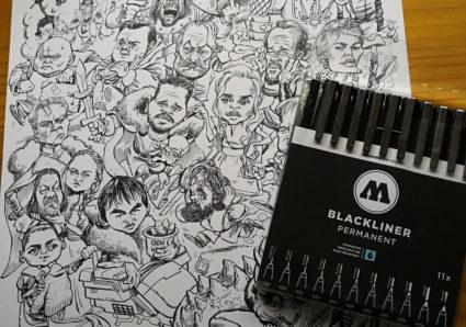 ALEX GALLEGO reviews the MOLOTOW BLACKLINER