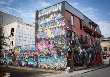 UNDER PRESSURE Graffiti Festival MONTREAL 2019