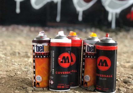 BOOGIE x COVERSALL™ COLOR x MOLOTOW™ PREMIUM