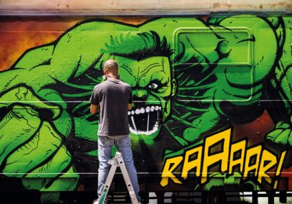 ZEUS40 paints the MOLOTOW TRAIN