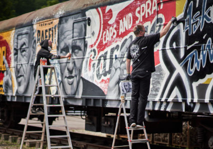 ASKER FARVEHANDEL x MOLOTOW TRAIN