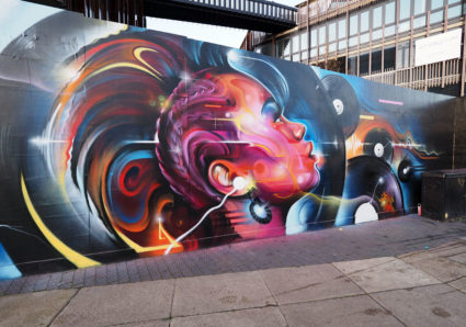 New Wall by MR.CENZ in Camden, London