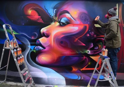 MR.CENZ 2019 Warm Up Mural in Penge, South London