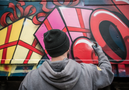 BOOGIE x MOLOTOW CHRISTMAS TRAIN