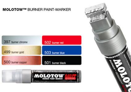 MOLOTOW™ BURNER Paint-Marker