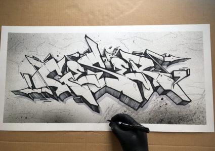 GESER x MOLOTOW BLACKLINER