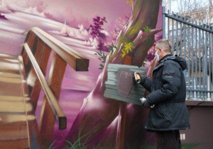 New SEY-B Mural in PARIS
