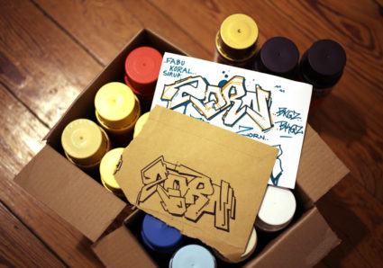 AMIT'S NAMEDROPPING PROJECT CONTINUES WITH GRAFFITI ARTIST ZORN