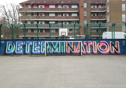 DETERMINATION x TOWER HAMLETS MURAL