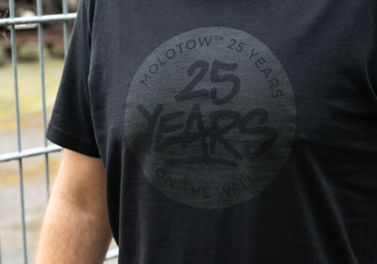 The MOLOTOW™ 25 YEARS T-SHIRT