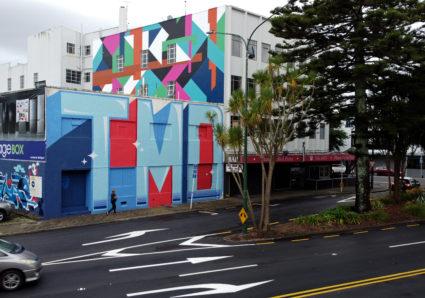 The TMD Street Art Festival New Zealand