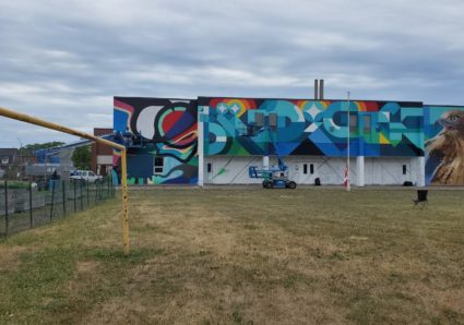 New Mural by BACON, PERU143 & QUE ROCK in Canada