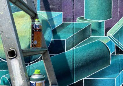 New walls by Graffiti artist DRIK from Berlin