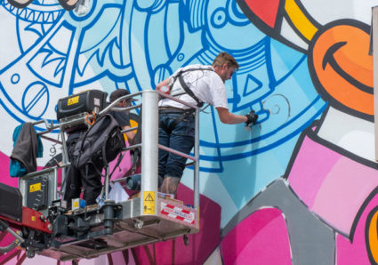 'Time Out' Mural in Le Locle x BUST ART