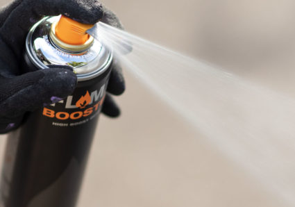 FLAME™ BOOSTER + THICK BLACK 500 ml
