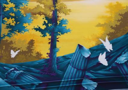 DAWN Mural by SEYB