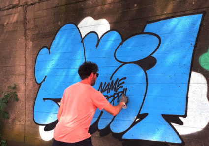 AMIT'S NAMEDROPPING PROJECT CONTINUES WITH GRAFFITI ARTIST SWEET UNO