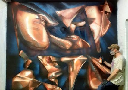 New REPLETE Metallic Copper & 3D Illusion Piece